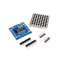 2 PCS MAX7219 Dot Matrix Module MAX7219EWG MCU Control Display Module DIY Kits