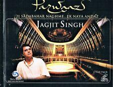 """JAGJIT SINGH SINGS 21 GHAZALS """"PARWAAZ"""" IN 2 VCD pack IN 2004"""