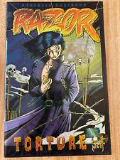 Razor Torture #0 B Chromium Wraparound Cover (1995, London Night Press)