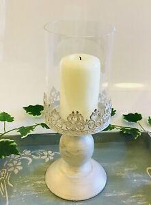 Pillar Candle Holder Stand Antique/Gold Home Decor Christmas Xmas