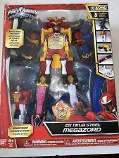 Power Rangers DX NINJA STEEL DELUXE MEGAZORD NEW