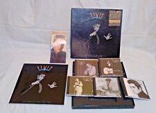 5 CD set 140 tracks of all ELVIS PRESLEY Complete 1950 masters songs &book & box