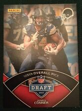 2017 Panini Instant James Conner Draft Day RC PITT Pittsburgh Steelers 1 of 72