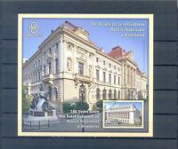 RUMANIEN  BLOCK 2020 NATIONAL BANK GESTEMPELT