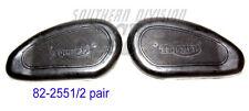Triumph Tank F4551 F4552 p/u 5TA pair knee gribs F1829 F1828 82-4551/2 82-1828/9