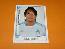 244 GABY HEINZE OLYMPIQUE MARSEILLE OM PANINI FOOT 2011 FOOTBALL 2010-2011