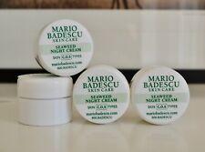 Mario Badescu Seaweed Night Cream .25 oz 7 g travel size mini (Lot of 4)
