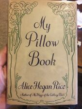 My Pillow Book By Alice Hegan Rice 1937 Scarce Rare First Edition