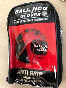 Ball Hog Gloves Anti Grip Weighted Basketball Gloves Size XL
