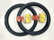20x2.125 (57-406)  TWO HIGH QUALITY BLACK TIRES AND  2 INNER TUBES