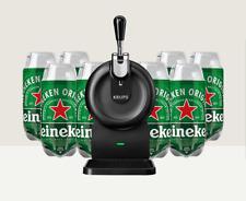 spillatore birra The SUB krups nero compact nuovo new + 8 ricariche torp