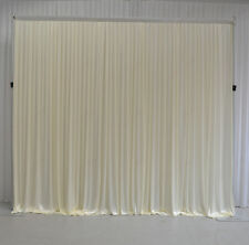 3Mx3M Ivory Wedding Backdrop Curtain for SALE (10ftx10ft)
