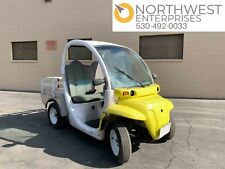 2002 GEM E825 Electric Utility Cart with Bed, Street Legal