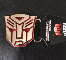LICENSED Autobots Transformers RED Belt Buckle HASBRO