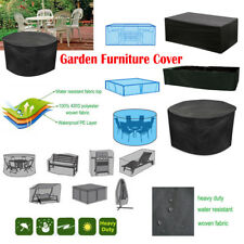 GARDEN PATIO FURNITURE COVER WATERPROOF COVERS RATTAN TABLE CUBE OUTDOOR Covers
