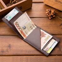 Men Money Clips Wallet 1 Pc Thin Mini Card 3 Colors Handbag Open Trendy Purse