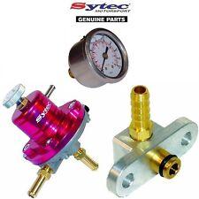 Sytec Regolatore Della Pressione Del Carburante Kit + INDICATORE LIVELLO CARBURANTE-SUBARU IMPREZA WRX STI 01-07