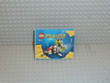 LEGO® Atlantis Bauanleitung 8072  Sea Jet ungelocht instruction B1361