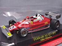 Ferrari Collection F1 312 T2 1977 Gilles 1/43 Scale Mini Car Display Diecast