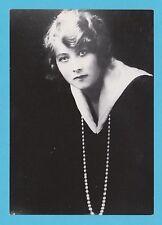 ACTRESS - ELMBRIDGE MUSEUM - POSTCARD SIZED CARD - ACTRESS  -  ALMA  TAYLOR