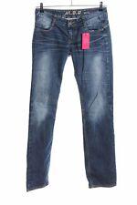 M.O.D. Straight-Leg Jeans blau Casual-Look Damen Gr. DE 38 Straight Leg Jeans