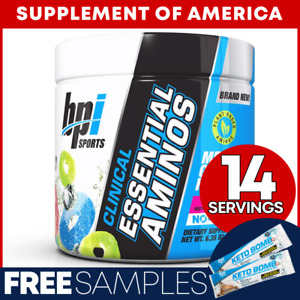 """Bpi Clinical Essential Aminos EAA/BCAA 14 Servings Arctic Ice """"FREE SHIPPING"""""""