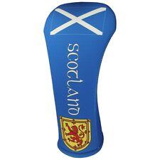 SCOTLAND FLAG HYBRID Golf Club Head Cover Cover Easy ON & Off USA MADE