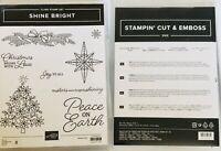 Stampin' UP! Shine Bright Stamp Set & Stitched Brightly Dies Dies Bundle