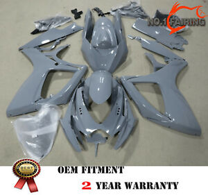 Gloss Nardo Gray Fairing Kit Fit for SUZUKI GSXR600 GSXR750 06-07 ABS Injection