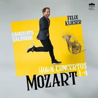 MOZART:COMPLETE HORN CONCERTOS - KLIESER,FELIX/CAMERATA SALZBURG   CD NEU