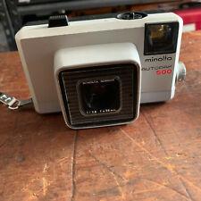 Vintage 1966 Minolta Autopak 500,  film camera with carry strap