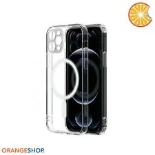 Custodia Cover Magsafe per Apple Iphone 12 (XII) trasparente magnetica
