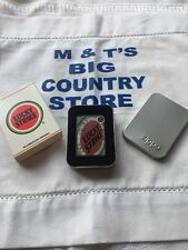 Lucky Strike Zippo Lighter Matte Black - Very Rare