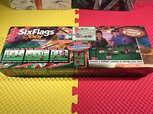 2003 Six Flags Cool Coaster Motorized Power Create Your Own or 6Flags New In Box