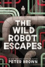 New Audio Book The Wild Robot Escapes Peter Brown (2018, CD, Unabridged) Sealed