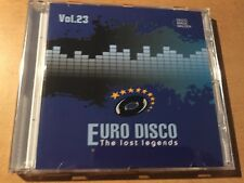 CD Euro Disco - The Lost Legends vol.23 (limited edition: only 100 copies)