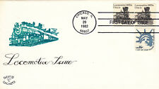 (07684) USA FDC locomotives Chicago 20 May 1982