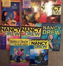 Lot of 8 Nancy Drew Girl Detective Chapter Carolyn Keene PB Book~1 Graphic Novel