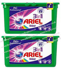 Ariel 3 In 1 Colour Pods Capsules Liquitabs 2 X 42 Packs P&G Professional