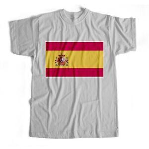 Spain | National Flag | Iron On T-Shirt Transfer Print