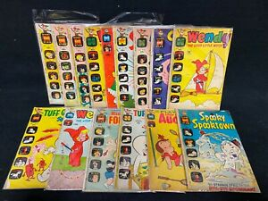 Harvey Comics and Stories '60s Gold Key Wacky Witch Aristocats Lot of 15