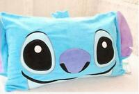 lilo&stitch blue anime cover pillow case anime case pillowslip cute