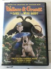 Wallace Gromit: The Curse of the Were-Rabbit (Dvd, 2006, Full Screen)