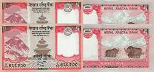 Nepal 5 Rupees (2012) - p69 x 2 Pieces UNC