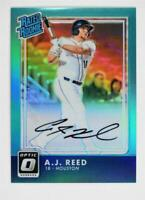 2016 Donruss Optic Rated Rookies Signatures Aqua #37 A.J. Reed Auto /125 - NM-MT