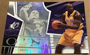 2003-04 SHAQUILLE O'NEAL UPPER DECK SPX BASE CARD #36 LOS ANGELES LAKERS