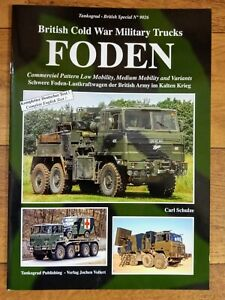Tankograd British Special 9026 Foden - British Cold War Military Trucks Softback