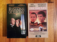 (Lot2) Remains of the Day 93 The Bounty 84 VHS RARE HTF OOP Classic
