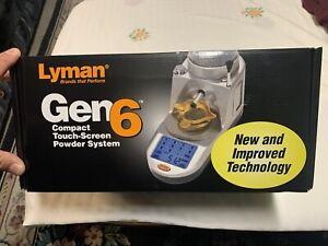 Lyman Gen6 Digital Powder Measure 115V ~7750550 ~ NEW