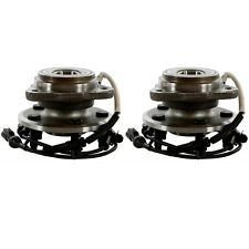 Pair Front Wheel Hub Bearing for 2005 2006 Ford Ranger 4WD/AWD-4 WHEEL ABS Only